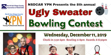 8th Annual NSDCAR YPN Ugly Sweater Bowling Contest tickets