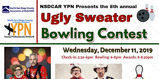 8th Annual NSDCAR YPN Ugly Sweater Bowling Contest