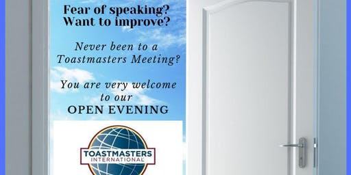 Inverness Toastmasters Open Evening
