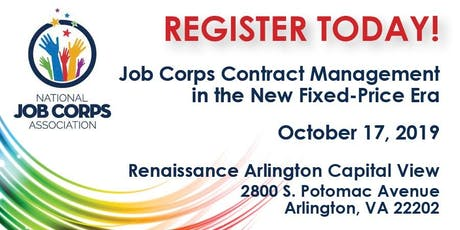 Job Corps Contract Management in the New Fixed-Price Era  tickets