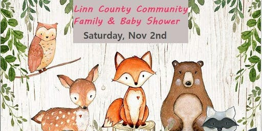 Linn County Family and Baby Shower
