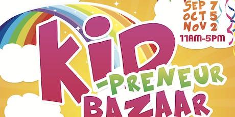 Kidprenuer Bazaar tickets