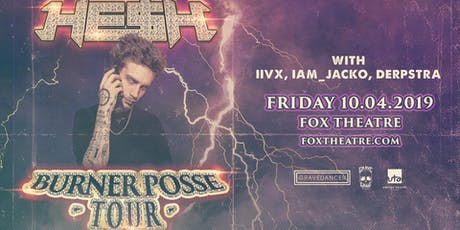 HE$H with IIVX, IAM_JACKO, DERPSTRA tickets