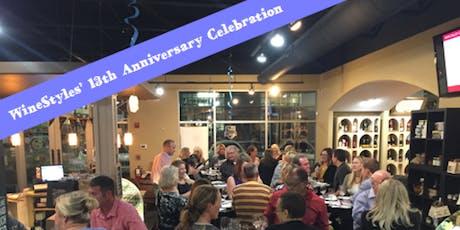 WineStyles 13th Anniversary Celebration tickets
