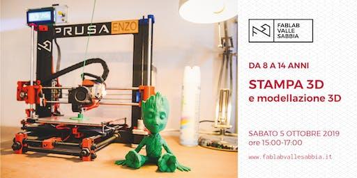 Stampa 3D e modellazione 3D - Laboratorio da 8 a 14 anni