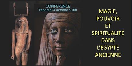 Magie, pouvoir et spiritualité dans l'Égypte ancienne billets