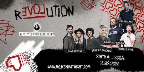 Holy Spirit Night - Love Revolution | Sintra, Lisb bilhetes