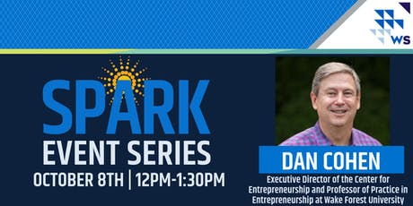 Winston Starts SPARK Series: Dan Cohen tickets
