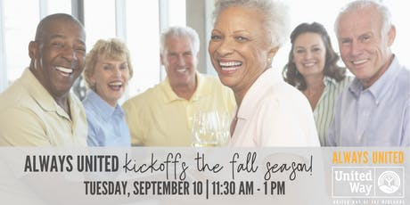 Always United Lunch & Learn: Medicare tickets