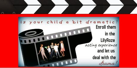Free Kid Acting Workshops and Open House! Powered by LilyRoze Studios  tickets