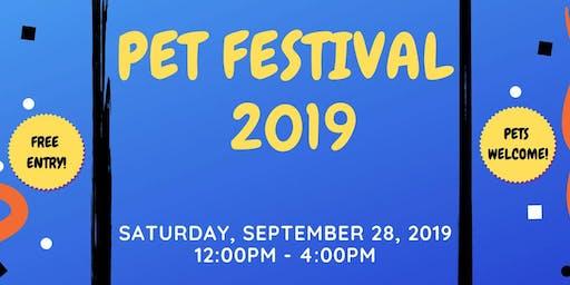 Pet Vaccination Clinic Pet Festival 2019