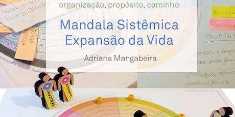 MANDALA SISTÊMICA EXPANSÃO DA VIDA ingressos