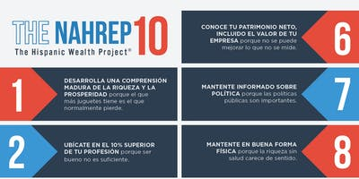 "Taller de Nahrep10 ""The Hispanic Wealth Project"""