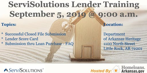 ServiSolutions Lender Training