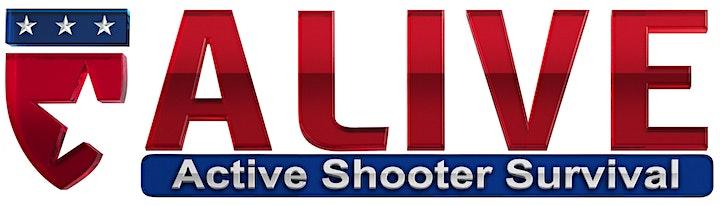 A.L.I.V.E. Active Shooter Survival  Instructor Certification Course image