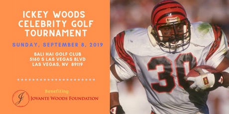 Ickey Woods Celebrity Golf Tournament tickets