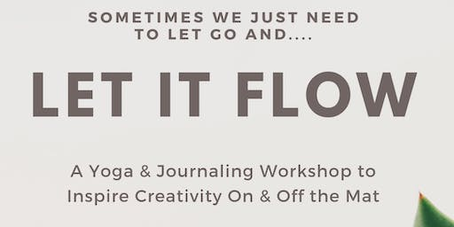 Let It Flow: A Yoga & Journaling Workshop to Inspire Creativity