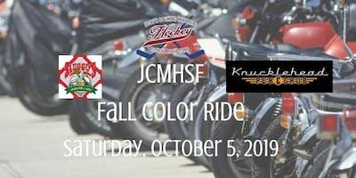 2019 JCMHSF - Fall Color Ride - Scholarship Fundraiser