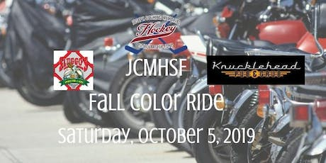 2019 JCMHSF - Fall Color Ride - Scholarship Fundraiser tickets