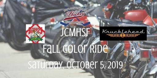 2019 JCMHSF - Fall Color Ride - Scholarship Fundraiser