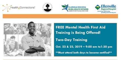 Ulster County Mental Health First Aid Training tickets