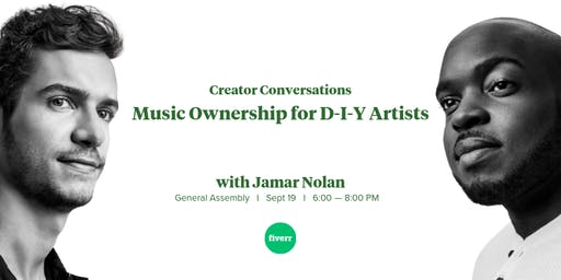 Creator Conversations: Music Ownership for D-I-Y Artists w/ Jamar Nolan