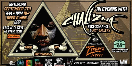 YIC Presents Chali 2na Performance & Art Show: celebrating Art, Music & Photography tickets