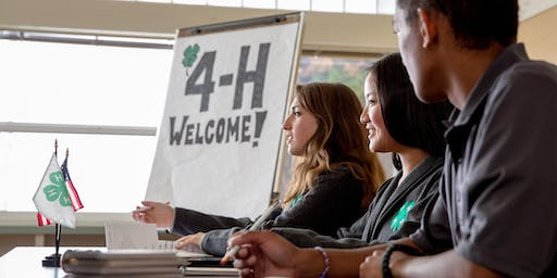 Clay County 4-H Leader and Volunteer Meeting May 18, 2020