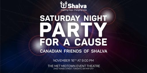 Saturday Night Party For A Cause