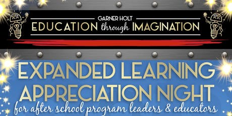 Expanded Learning Appreciation Night tickets