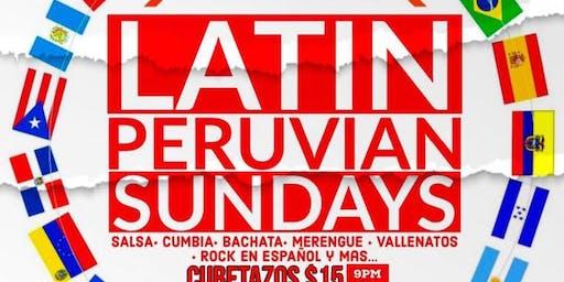 "LATIN Peruvian Sunday"" Modelo Bar & Grill-Domingo 25"