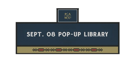 Printer's Ale Pop-Up Library