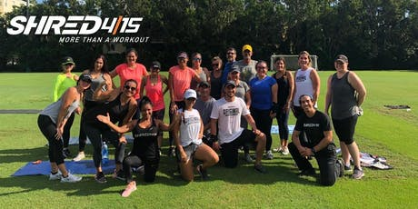 FREE Shred415 HIIT Outdoor Workout tickets