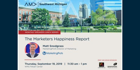 The Marketer's Happiness Report tickets
