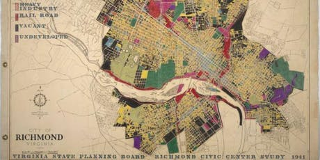 Richmond City Planning: Evolution Through Maps  tickets