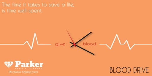 Blood Drive at Parker Pawn & Jewelry