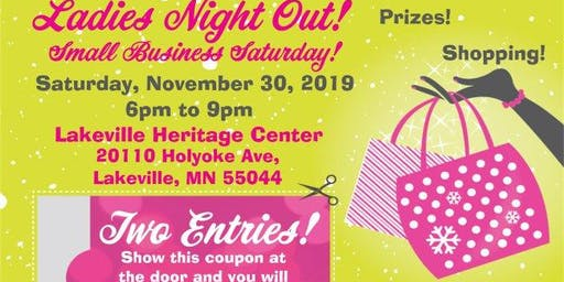 Ladies Night Out! Small Business Saturday!