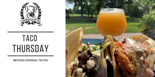 Taco Thursday @ Murdoch's Backyard Pub!