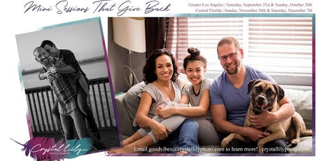 Photo Mini Sessions That Give Back tickets
