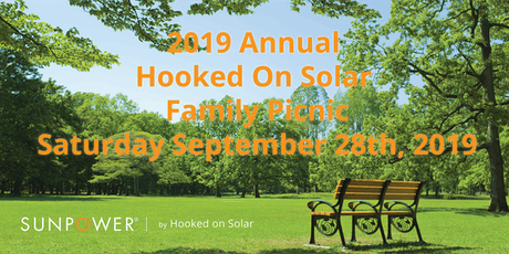 SunPower by Hooked On Solar Family Picnic-2019 tickets