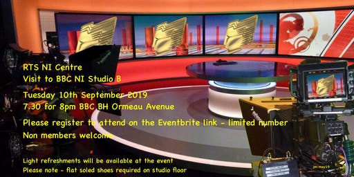 Visit to BBC Studio B