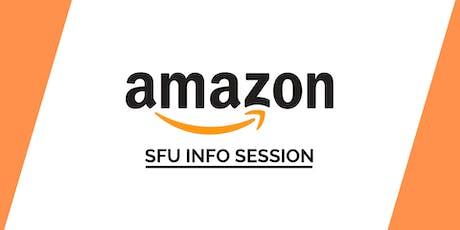 SFU Amazon Info Session tickets