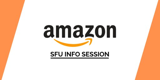 SFU Amazon Info Session