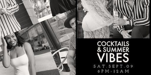 The MOËT BLK/WHITE Cocktails & Summer Vibes