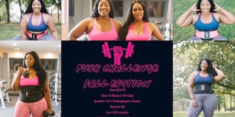 PUSH CHALLENGE FALL EDITION 2019 tickets