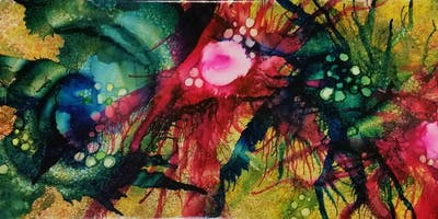 Alcohol Inks Workshops September 2019
