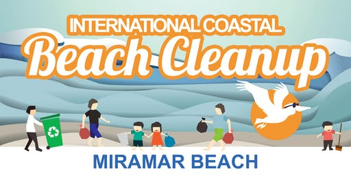 2019 INTERNATIONAL COASTAL BEACH CLEANUP - Miramar Beach