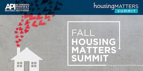 API Fall Housing Matters Summit tickets