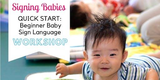 Baby Sign Language Quick Start Workshop