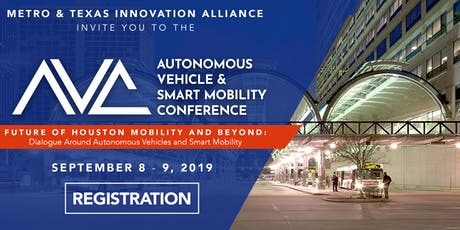 Autonomous Vehicle & Smart Mobility Conference tickets